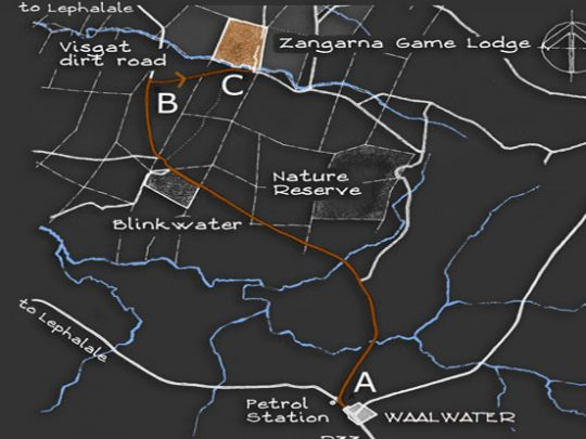 zangarna game lodge location